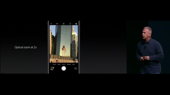 雙相機令 iPhone 7 Plus 可擁有 2 倍光學變焦的能力,數碼變焦更可達到 10 倍之多。