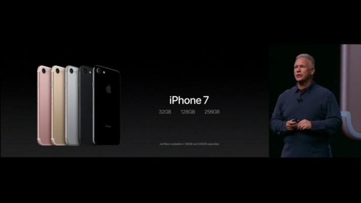 iPhone 7 提供 64GB、128GB 及 256GB 可選擇,但仍有幾多人會買32GB版本?