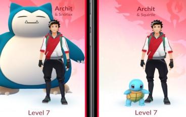 全新同伴系統 Pokemon GO 可以揀心愛小精靈同行