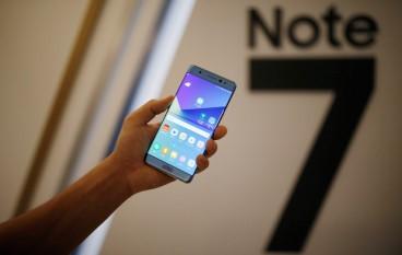 死灰復燃 Note 7 即將重新開賣