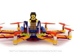 點撞都唔怕 Lego 無人機任你改機