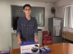 PlayStation VR開箱試玩 玩得耐頭暈?!
