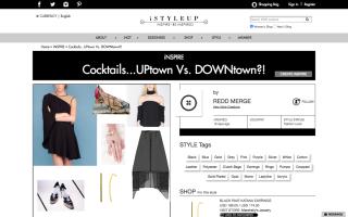 時裝社交網站集合各界 時裝愛好者、名人等,分享穿衣心得。