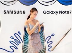 三星電子香港停止出售 Galaxy Note7