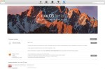 macOS Sierra 經已在 Mac App Store 推出