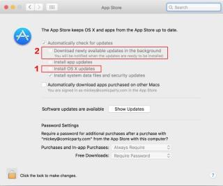 防止 macOS 自動升級 2