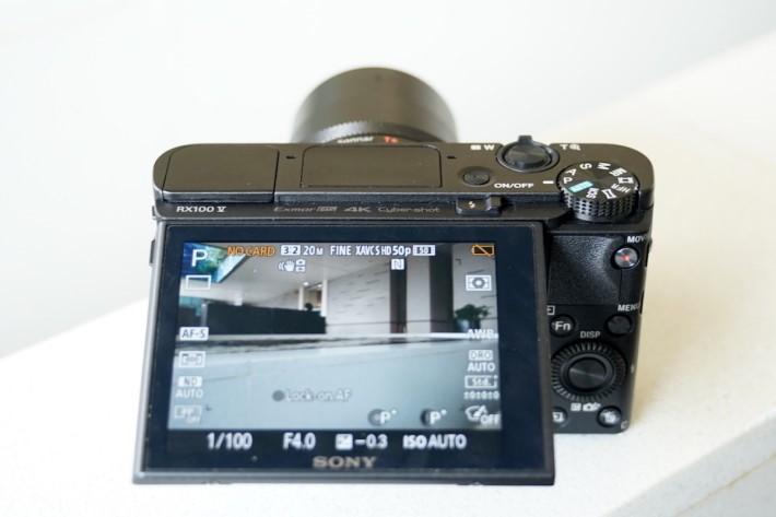 ・RX100 V 最特別是0.05秒極速對焦和每秒12張高速連拍,比DSLR也毫不遜色。