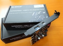 舊電腦升級 USB-C? ORICO SUPERSPEED USB3.1 PCI-Express Card