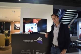 Visionaries 777 共同創辦人 Frantz Lasorne 表示,公司以香港為基地,是因為看準亞洲市場。