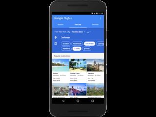 Google Flights 探索功能幫你找尋旅遊靈感
