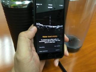 手機 App 可以為你報告水量,提醒你加水。