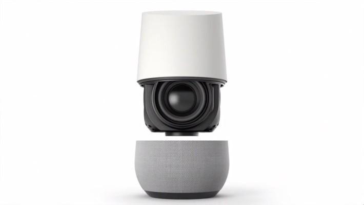 Google Home 本身是一個用語音控制的喇叭