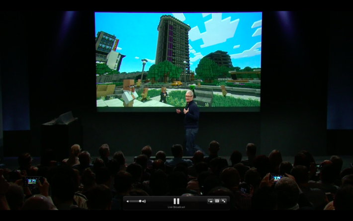 Minecraft 將會加入到 Apple TV。