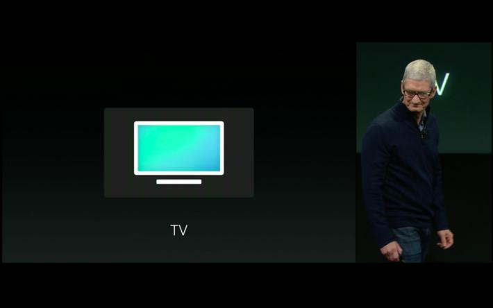 將會在 Apple TV 上加入全新 App 名為 TV。