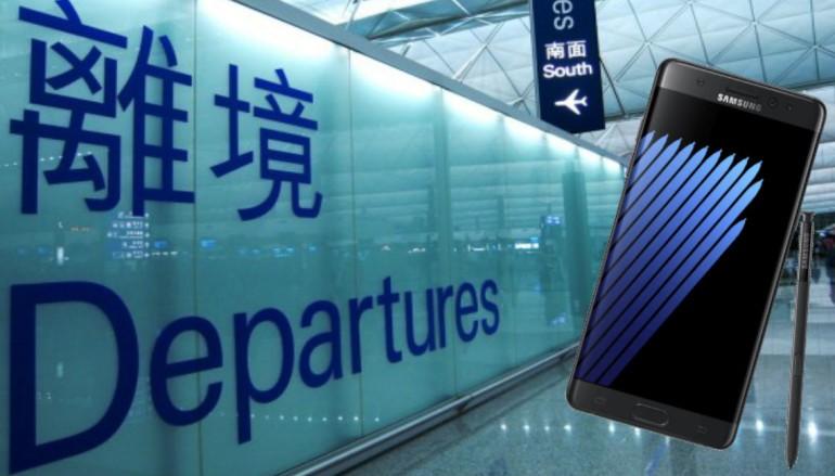 【請廣傳】三星香港就機管局禁帶 Note 7 上機採取應對措施