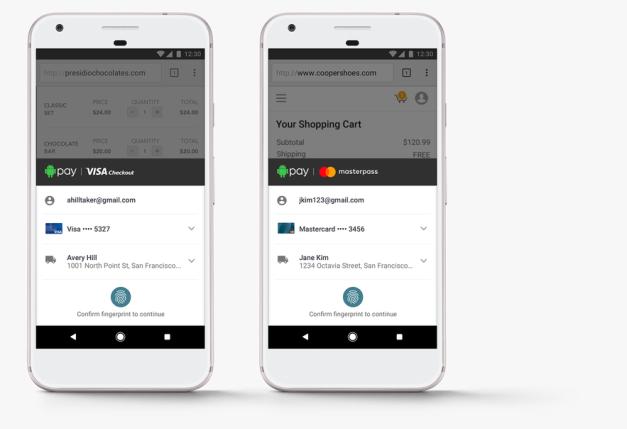 【提升安全】Android Pay 明年開放網上使用 需以指紋認證