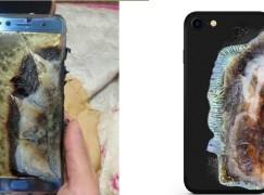 【抽到乾】外國推疑似 Note 7 爆炸 iPhone Case?!