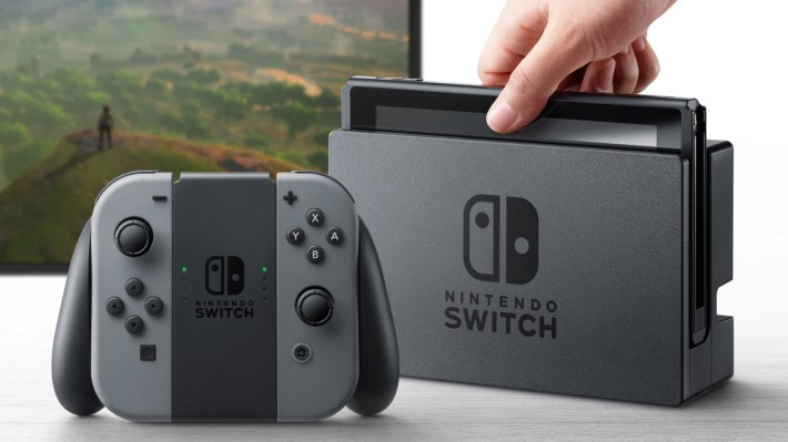 Switch 讓遊戲機突破了時地的界限。