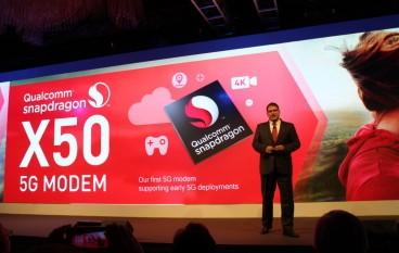 【最快 5Gbps】高通發表 5G modem 晶片