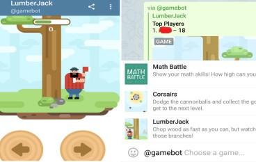 Telegram 入「密碼」就可以同朋友傾住玩小遊戲