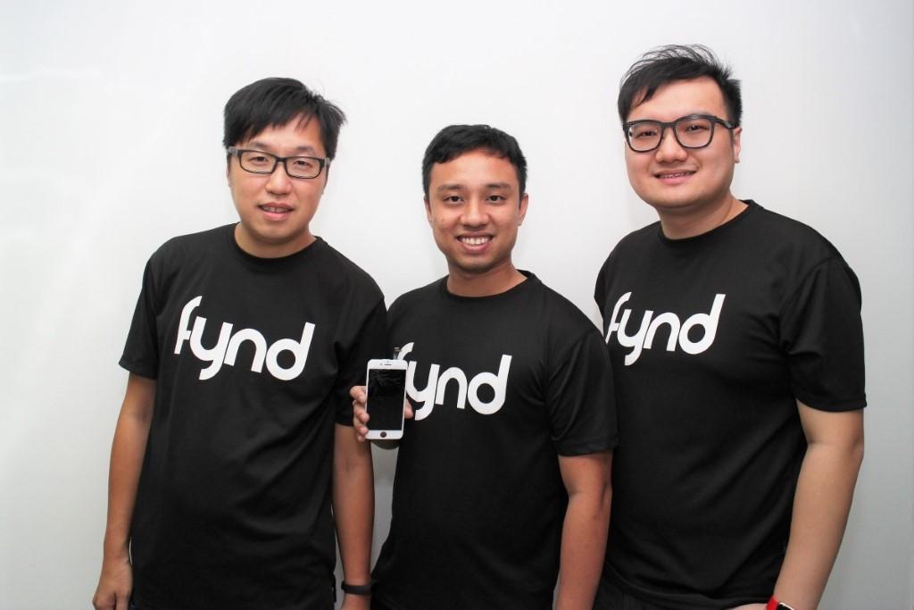 (左起)歐陽德輝、Alex Deven 和徐寬誠表示,上門維修智能電話有一定市場潛力。