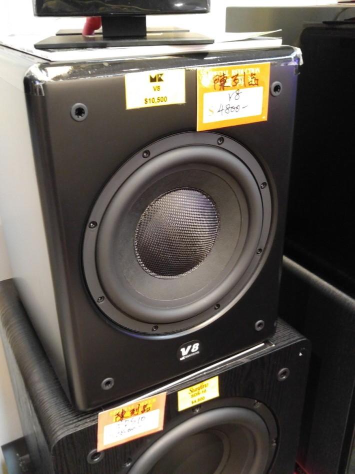 M&K Sound V8 重低音喇叭