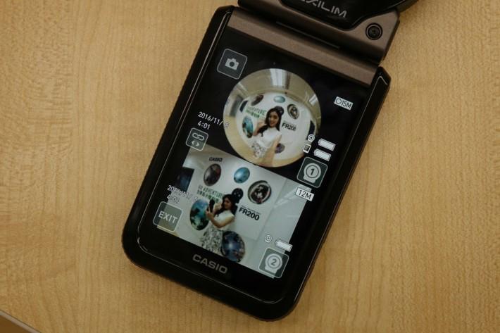 控制器可以同時實時顯示兩個鏡頭的拍攝畫面,也支援前代的鏡頭。