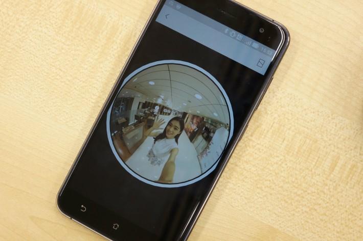 使用EXILIM Album App便可以把相片以多角度觀看了。