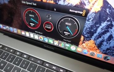 SSD 突破 2,000MB/s MacBook Pro 15 吋效能速試