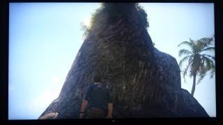 逆光的石山比較:PS4 Pro