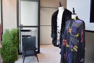 展覽區展出了會員的時裝設計作品。