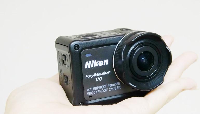 實試 Nikon KeyMission 170 超 Wide 四防 Action Cam