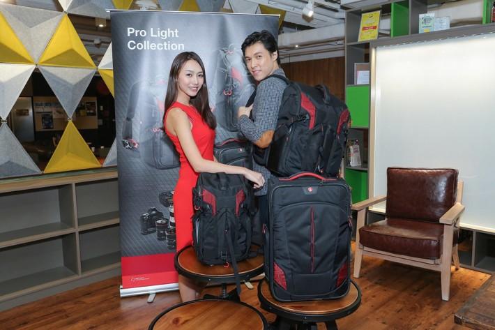 可滿足專業用戶所需的 Pro Light 相機背囊及行李箱,當中 3N1-36 更可同時攜帶航拍機。