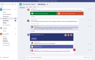 Microsoft推出Teams  挑戰Slack地位