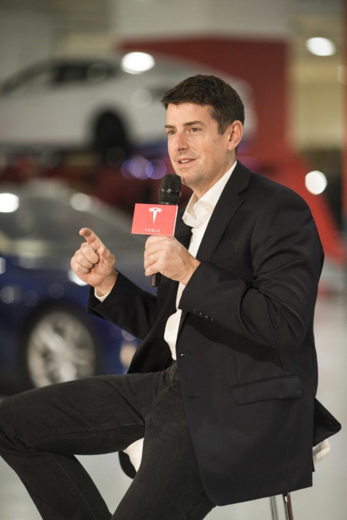 Mr. Jon McNeill, President of Global Sales & Service of Tesla (1)