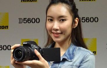 Nikon D5600 入門單反即拍即分享