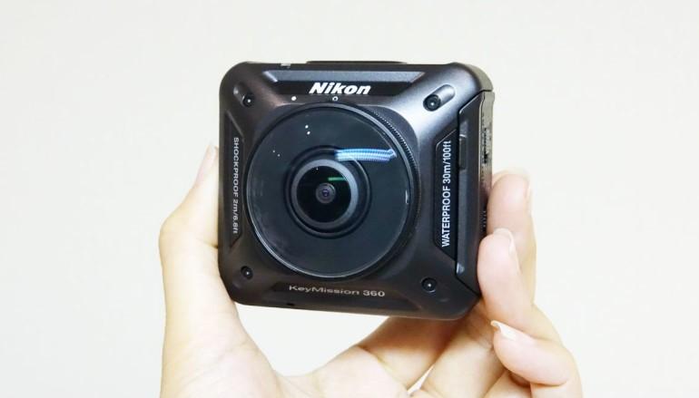 4K 四防全景 Action Cam 實試 Nikon KeyMission 360