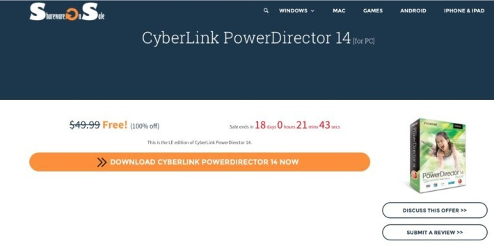 Power Director 14 Free Download