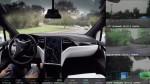 Tesla 公開完全自動駕駛車內影片