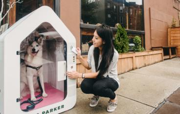 狗狗「停泊屋」Dog Parker