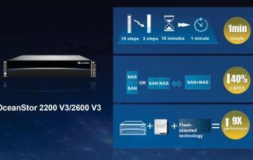 華為OceanStor儲存設備增中小企版本