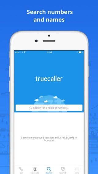 三款 App 均設有電話號碼反查功能