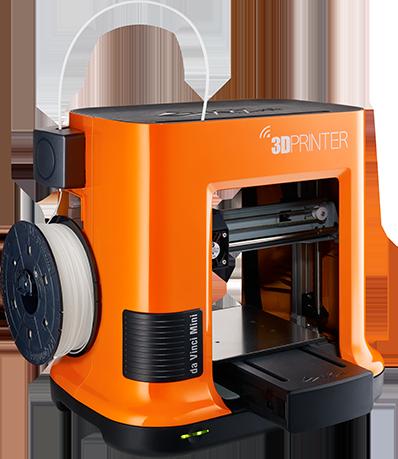 da Vinci Mini w 家用級 3D 打印機。