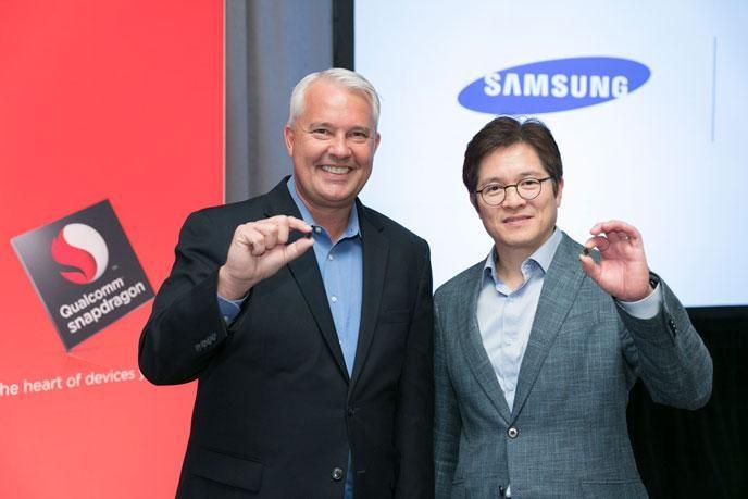Snapdragon 835 使用 10nm FinFET 製程,更是由 Samsung 代工。