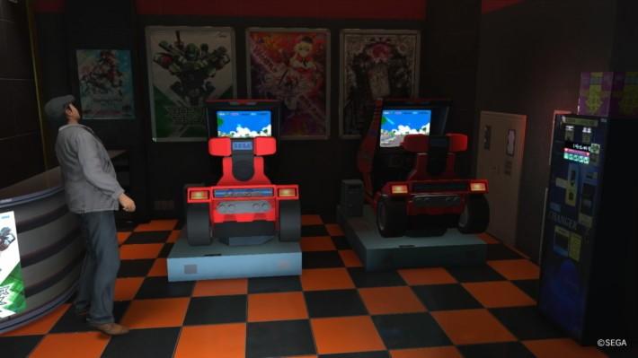 入 Sega 機鋪打機,今集更有 Virtual Fighter 玩。