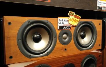 【場報】Polk Audio 中置喇叭 CS-20 平八嚿