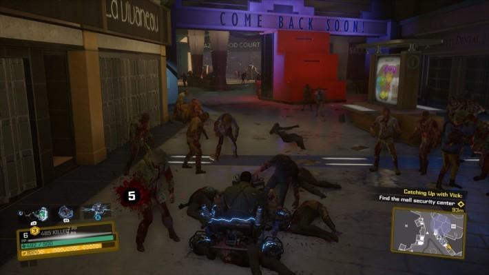 各種奇特載具,可以幫助玩家突破重圍,更可以大量屠殺喪屍。