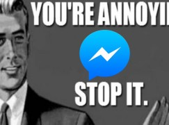 【聖誕限定】 Facebook Messenger 彈出提示有雪花 好有聖誕 Feel 呀!