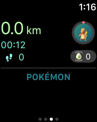 Apple Watch版的Pokemon Go 連動正式登場