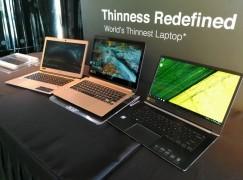 全球最薄筆電 – Acer Swift 7